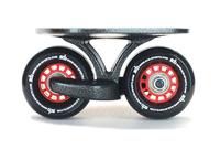 Factory Price! 1set SAB Black freeline skate drift skate black wheel,Skateboard gift Club Dedicated Free shipping Fedex IE
