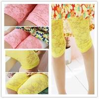 Hot girls summer lace leggings flower baby leggings Mini bow kids leggings for girls 2013 New Arrivals fashion sweet girls 10PCS