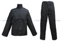 Black BDU Velcro Uniform [CL-02-BK] free shipping