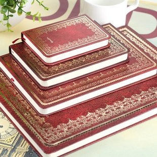 Snake vintage korea stationery hardcover hard skin decorative pattern notebook diary notepad(China (Mainland))