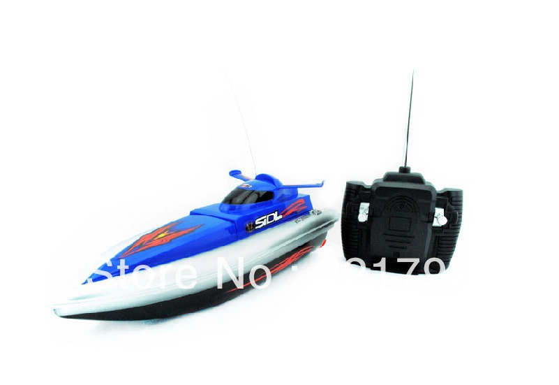 "Free shipping 12"" RC Racing Speed Boat / Remote control racing fast boat HT-2829F(China (Mainland))"