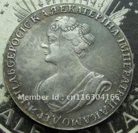 1 ROUBLE 1725 RUSSIA Ekaterina I  COPY FREE SHIPPING