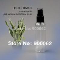 FREE SHIPPING 60ml Alum Spray Deodorant, Crystal stick deodorant