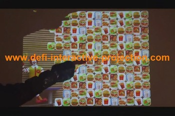 Supply Interactive Floor projection system including 111 different effects for event, for Company Reception Areas