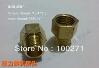 adapter for tube,Female thread M1.4*1.5 charge Bsp 1/4""