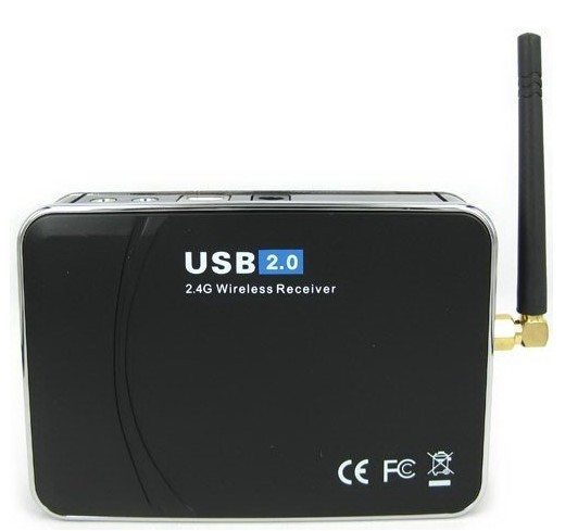 2.4G USB Wireless DVR 4CH Camera CCTV Security Video Recorder Receiver DVR Detecter Remote Controller(China (Mainland))
