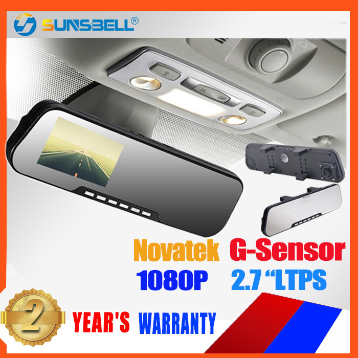 New 2013 Rear View Mirror with dvr + Motion detection + night vision + HD 1080P Car DVR recorder DV200 car dvr(China (Mainland))