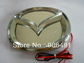 Car  rear  logo light  model White  colour  3D emblem shining plastic cool shining Car LED brand logo for Mazda 3 retail box