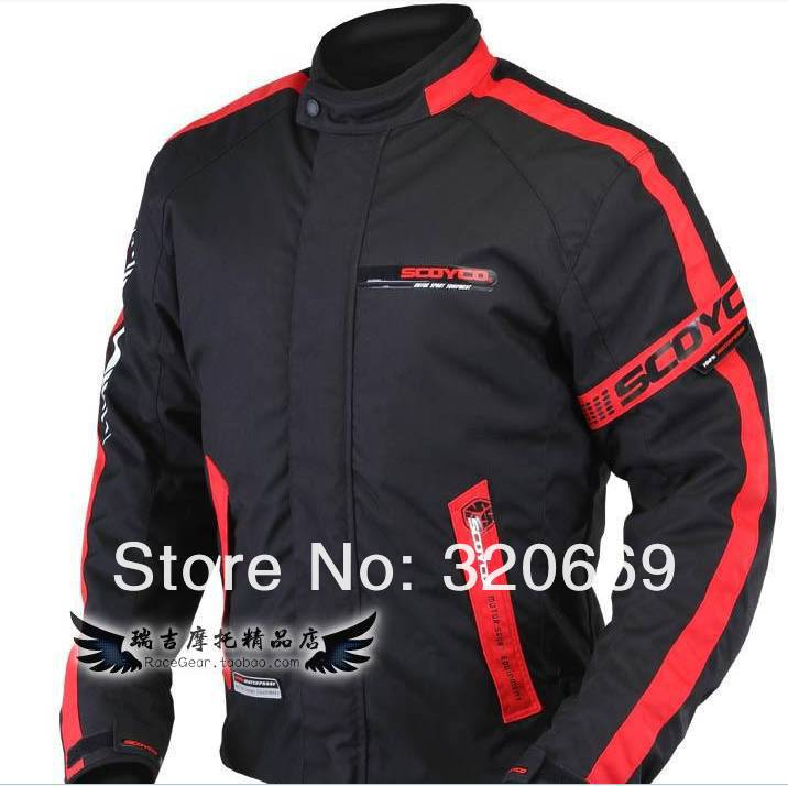 The feather riding a motorcycle racing suits the feather JK34 rain fall and winter model(China (Mainland))