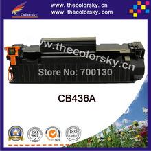 (CS-H436A) BK compatible toner cartridge for hp CB436A CB 436A 36A P1505 P1505N M1120 M1522N (2000 pages) Free FedEx