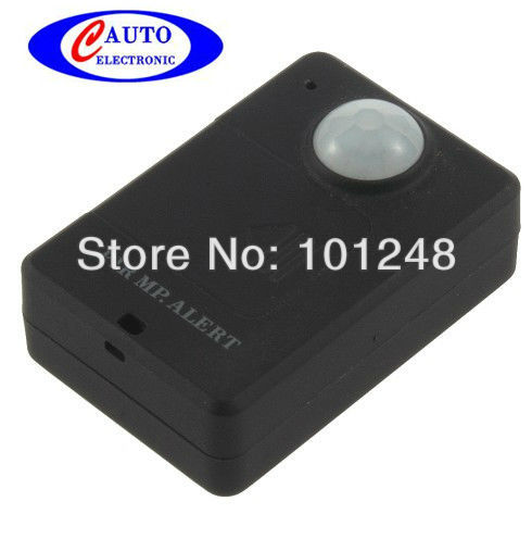 Wireless Audio Voice Tracker SIM Monitor GSM Cell Mobile Phone + Mini PIR body sensor MP.Alert Infrared GSM Alarm avp031A9(Hong Kong)