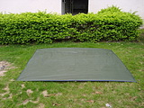 Cow muscle mat cloth 3 - 4 tent mats wear-resistant modifty waterproof canvas mat(China (Mainland))