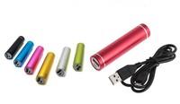 USB 2600mAh Universal External Battery Charger Power Bank Stick Adapter