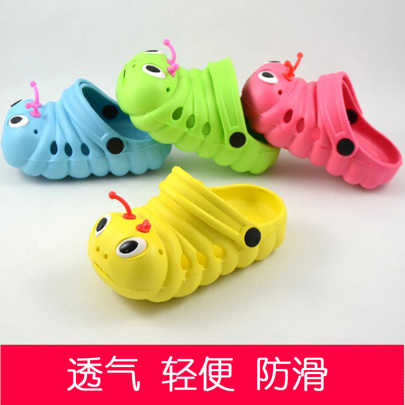 2013 Summer New Brand Children Kids Cartoon Eva Slipper Garden Mules Clogs Slipper Sandals Shoes For Baby Boys Baby Girls(China (Mainland))