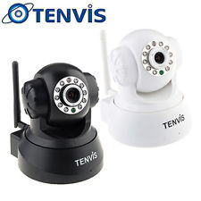 3Pieces Wireless Home Wifi Indoor IP Camera Network IR CCTV NIGHT VISION Webcam Pan/Tilt JPT3815W