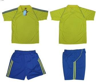 2012 soccer clothes light board soccer jersey football training clothing (5 sets) Training Soccer Jersey