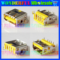 Original New Laptop USB Jack,Yellow