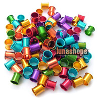 100PCS 8MM color aluminous bird dove pigeon Leg Rings manufacturers china