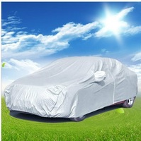 B free shippinghigh quality!Car Cover Sedan SUN UV Rain Resistant Protection car cover waterproof (Fit for 460*180cm)