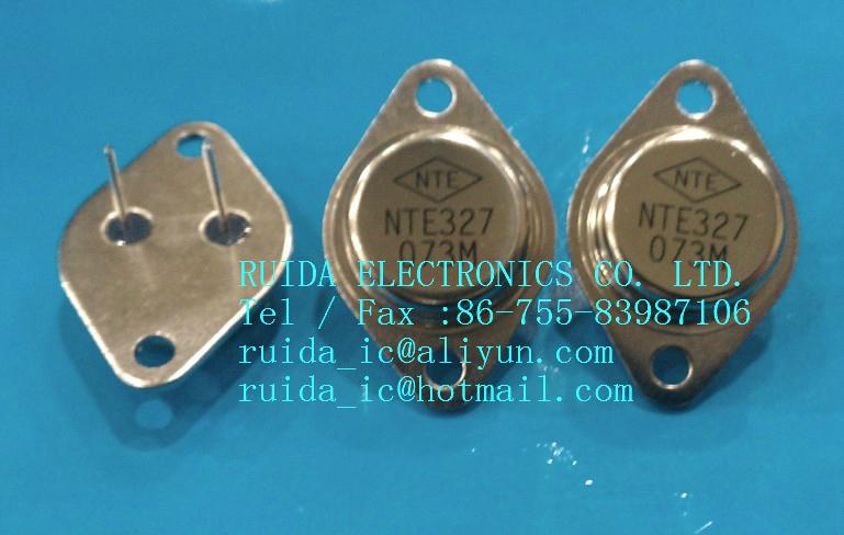 NTE ELECTRONICS NTE327 TRANS, NPN SILICON 180V IC=25A TO-3 CASE Manu Code:320(China (Mainland))