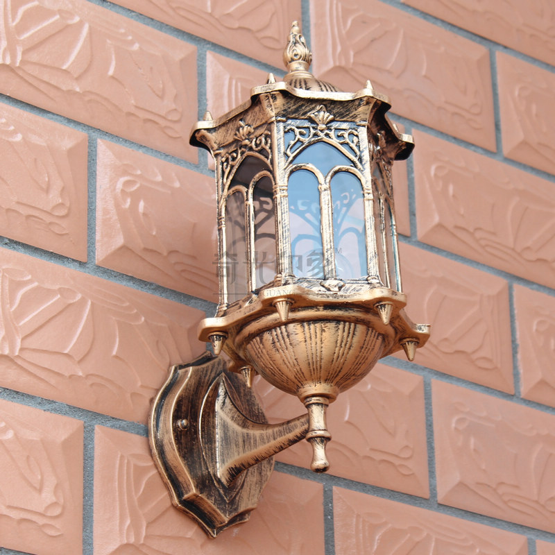 Hot Home New product Outdoor lighting antique lighting fashion waterproof outdoor vintage wall lamp made in china led lamp(China (Mainland))