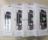 10pcs/lot DHL Maxboost Fusion Detachable Hybrid Battery Portable Backup Charger for iPhone 5 5G