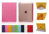 free shipping Hot Sale!! Smart Cover Official Case For iPad2 ipad3 Ultra Thin Minimal Design For Apple iPad 2 3 4