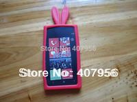 Wholesale For Nokia Lumia 920 N920 case Rabbit silicone Case cartoon case,10pcs/lot