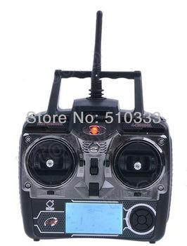 "4Ch 2.7"" LCD Transmitter/ Controller Set Parts For WLToys V911 V912   v913 V929 V939 V949 RC Helicopter 18650 & free shipping"