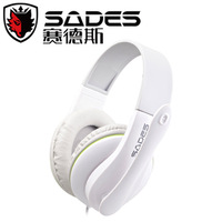 Free shipping!! SADES SA701 wore a computer game headphones with a microphone headset headset microphone