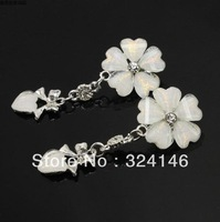 Cheap!! New wedding rhinestone  earrings flower crystal bridal earrngs hot sale fashion jewelry RH024