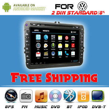 2013 touch screen in-dash radio dvd player support 3g for VW JETTA/SKODA/SEAT