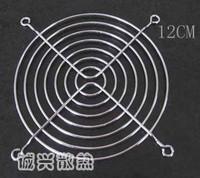 12 cooling fan metal fence cover 12cm fan protection net fan
