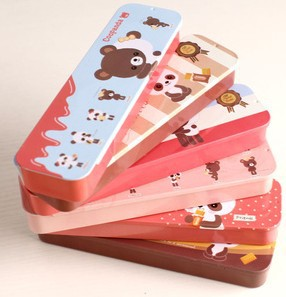 Blue Bai Stationery--Hot sale New style Korean Stationery Lovely panda pencil case Coopanda push box 360004(China (Mainland))