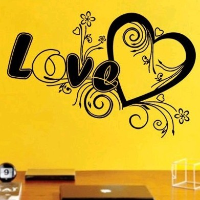 Wall stickers sofa wall covering tv wall ceremonized wallpaper black glowed(China (Mainland))