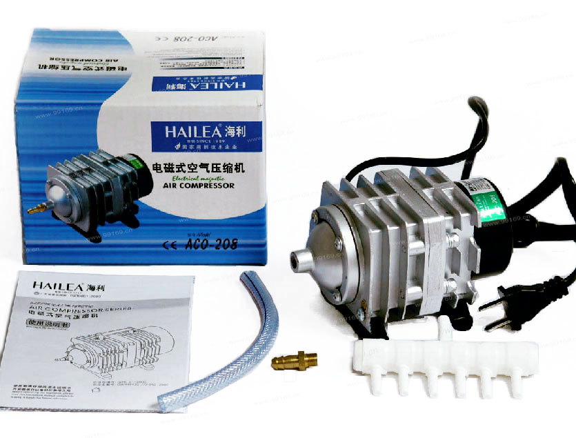 35L/min Hailea ACO-208 Electromagnetic Air Compressor,Aquarium air pump,Aquarium tank,Fish tank(China (Mainland))