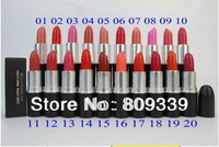 20 PCS Lowest first  MAKEUP New Lustre Lipstick Rouge A Levres 3g FREE SHIPPING