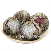$10 off per $100 order! Free shipping! 10kinds handmade blooming tea,Flowering Green Artistic Tea Ball, scented tea,10pcs/bag
