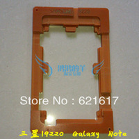 Samsung I9220 Galaxy Note laminating the mold glass cover curing mold positioning a water gel assembly