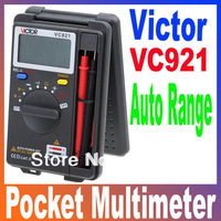 VICTOR VC921 3 3/4 DMM Integrated Personal Handheld Pocket Mini Digital Multimeter Auto Range Free Shipping