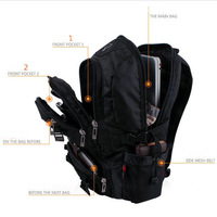 Backpack male business casual travel backpack female student school bag double-shoulder laptop bag