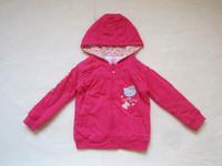 Children's clothing girls clothing children's clothing thin cotton-padded coat sweatshirt