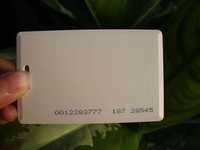 100pcs EM4100 125Khz Proximity ID Cards 0.8mm Thin Credit Card Size Card Access Control EM Proximity