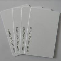 Free Shipping 100PCS/Lot  125Khz  Thin TK4100 Card PVC white card