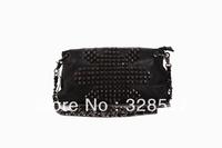 Wholesale Women Fashion Shoulder Bags High Quality Leather Handbags Skull Decoration Handbag