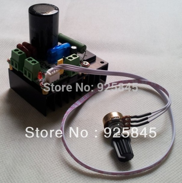 Freeshipping 12V 24V 48V 110V PWM DC motor controller(China (Mainland))