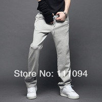 HOT!2014 new style spring and Autumn men's straight casual pants loose sports trousers casual sports pants