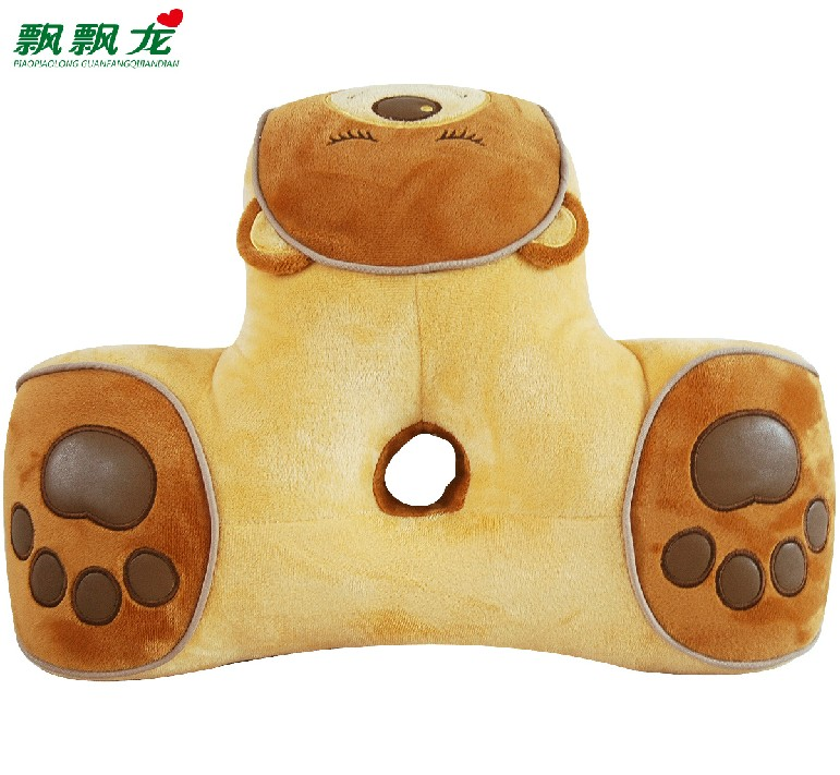 Waist support cushion plush toy heavly lumbar pillow back cushion comfortable pillow gift(China (Mainland))