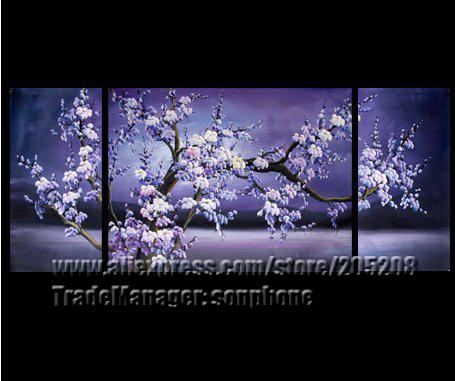 online kaufen gro handel wand dekor kirschbl ten aus china. Black Bedroom Furniture Sets. Home Design Ideas