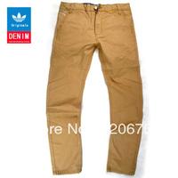 Free Shipping 2013 Men's Jean New Arrival Top Brand Pants Men's Casual Men's Khaki Long Pants Instock